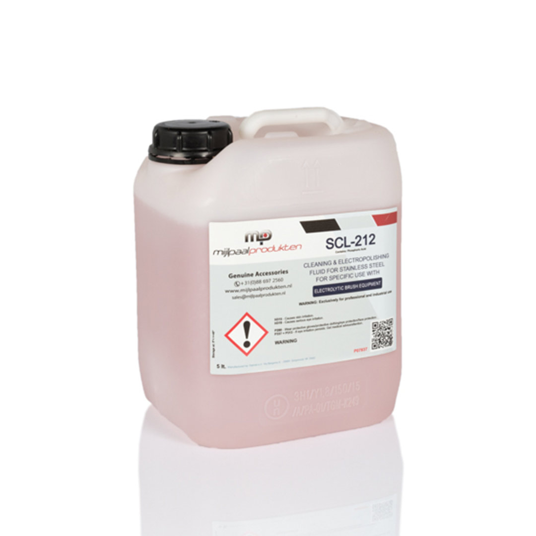 SCL-212 mild cleaning fluid Stainless Finishing Solutions