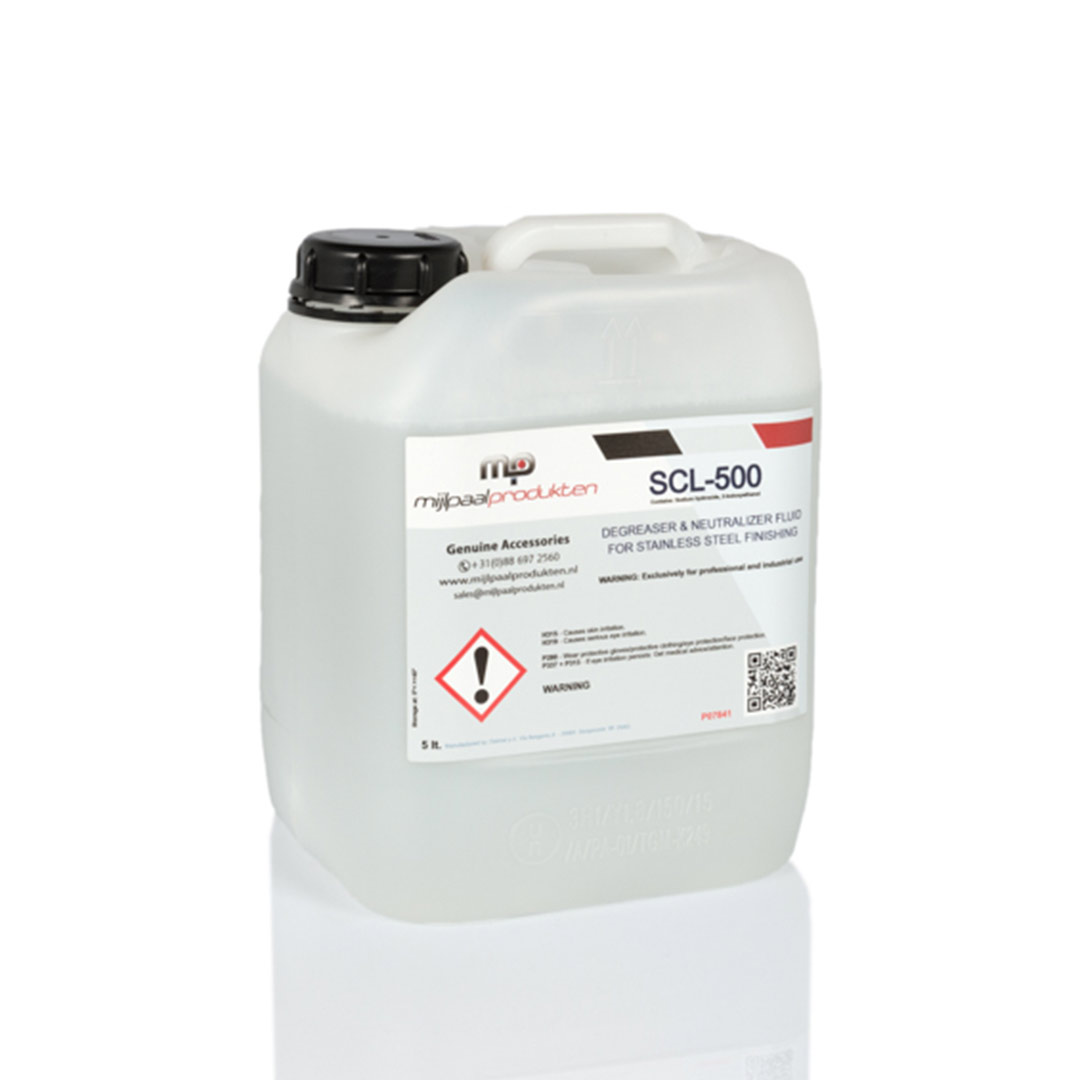 SCL-500 neutralizer fluid Stainless Finishing Solutions
