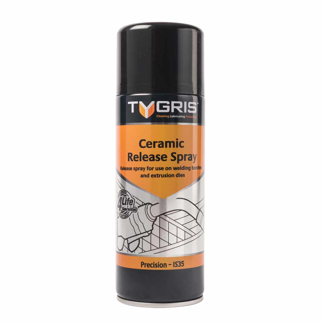 Tygris Ceramic Release Spray (Case of 12) Stainless Finishing Solutions