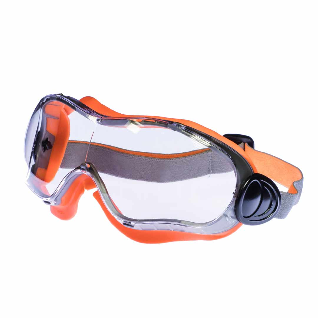 Clear Contour Safety Goggle Stainless Finishing Solutions
