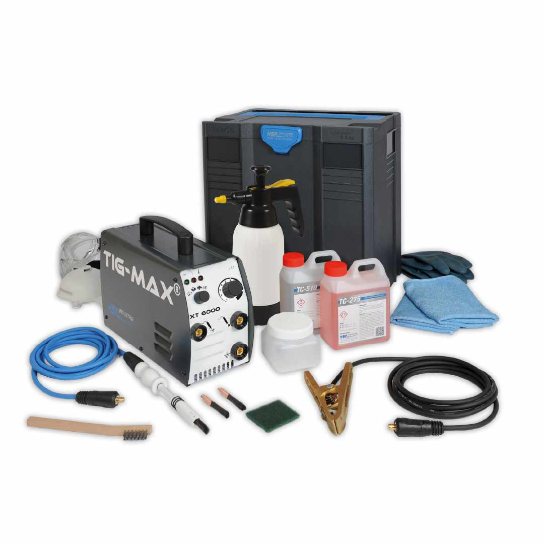 Tig-max XT6000 Stainless Finishing Solutions