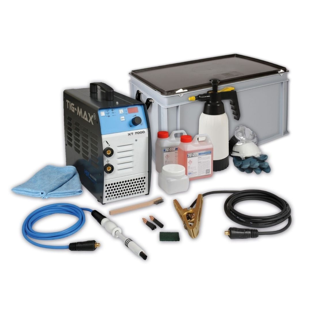 Tig-max XT7000 Stainless Finishing Solutions