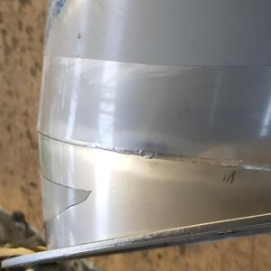 Weld cleaning for Food & Drink fabrication Stainless Finishing Solutions