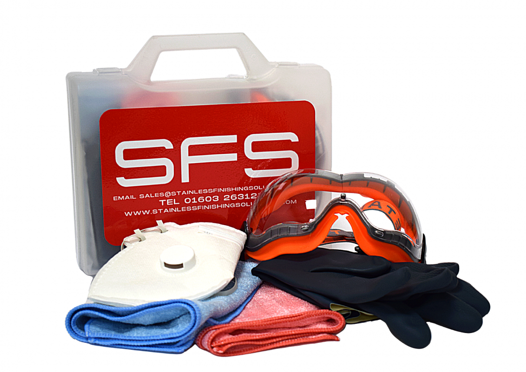 Ultimate weld cleaning PPE kit Stainless Finishing Solutions