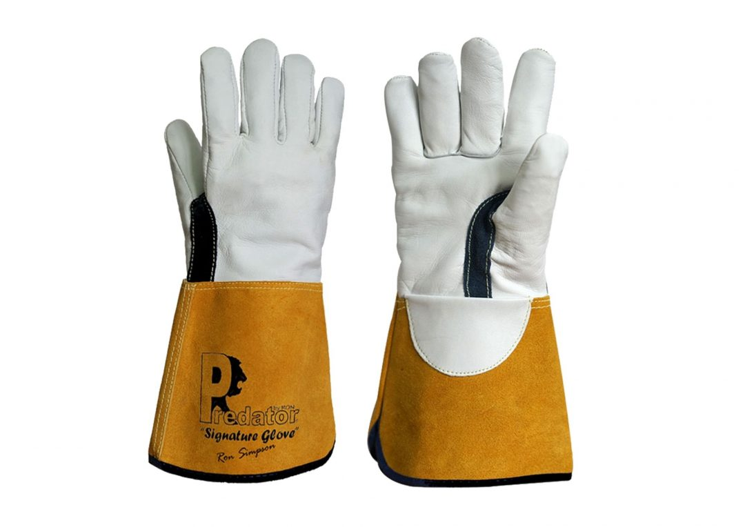PREDATOR Signature Tig Gauntlets SIZE 10 Stainless Finishing Solutions