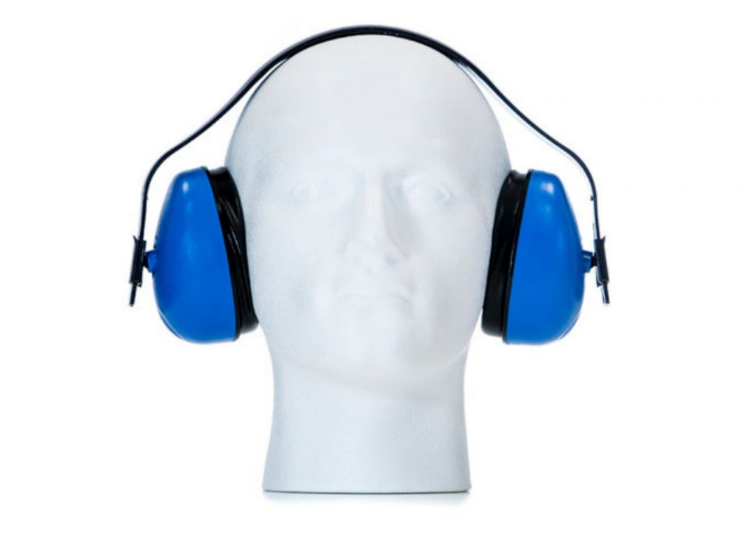 Ear Defenders Blue Stainless Finishing Solutions