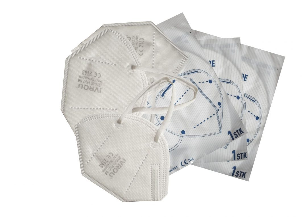 FFP2 Disposable respirators (Pack of 50) Stainless Finishing Solutions