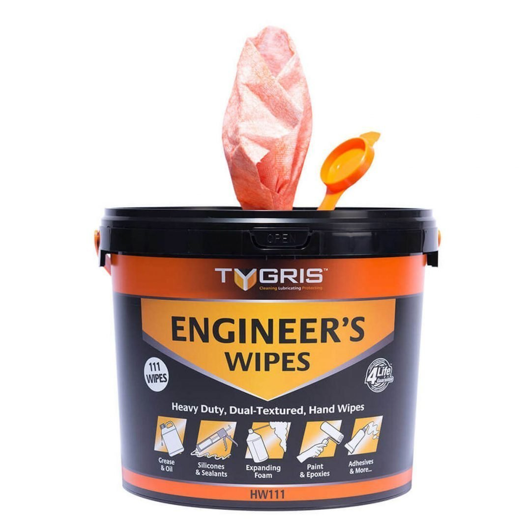 TYGRIS Engineer's Wipes (Box of 4) Stainless Finishing Solutions